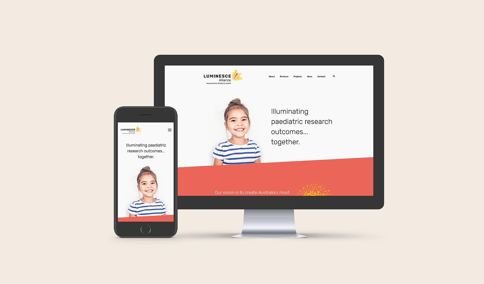 Luminesce Alliance website