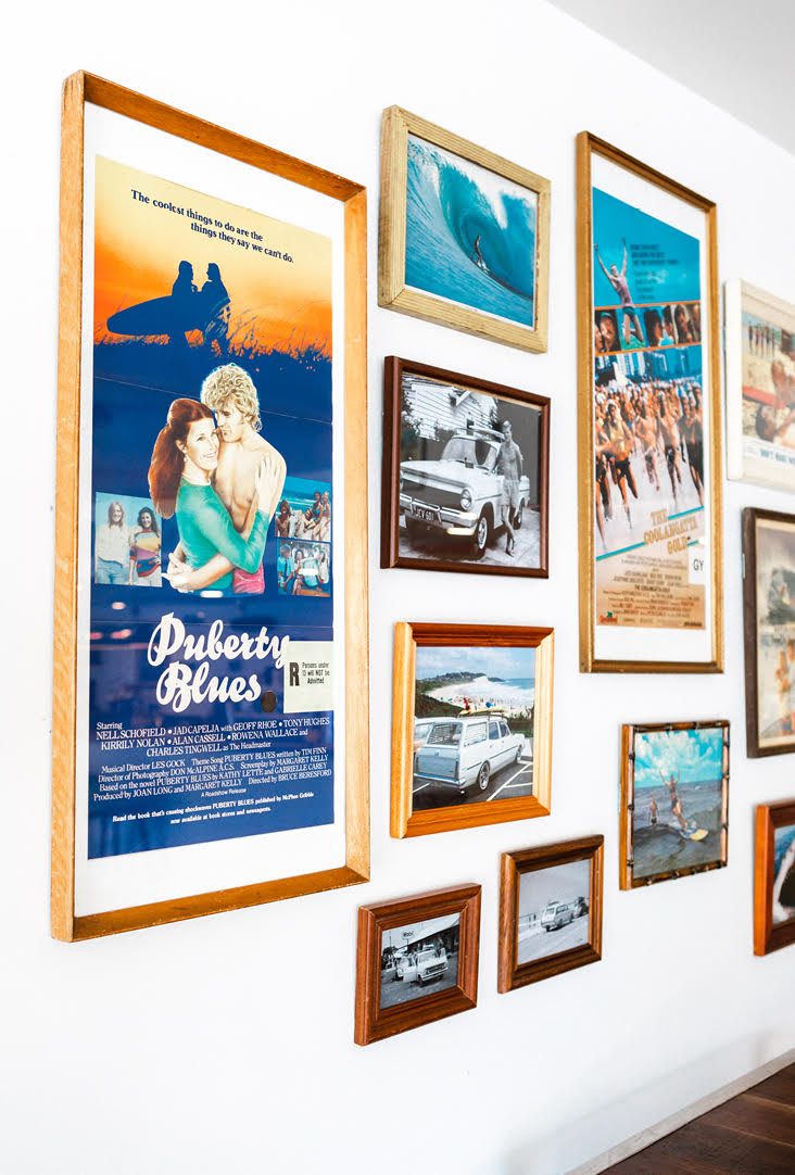 The Surf House Frames