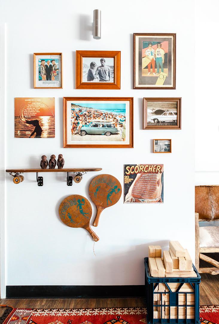 The Surf House Frames
