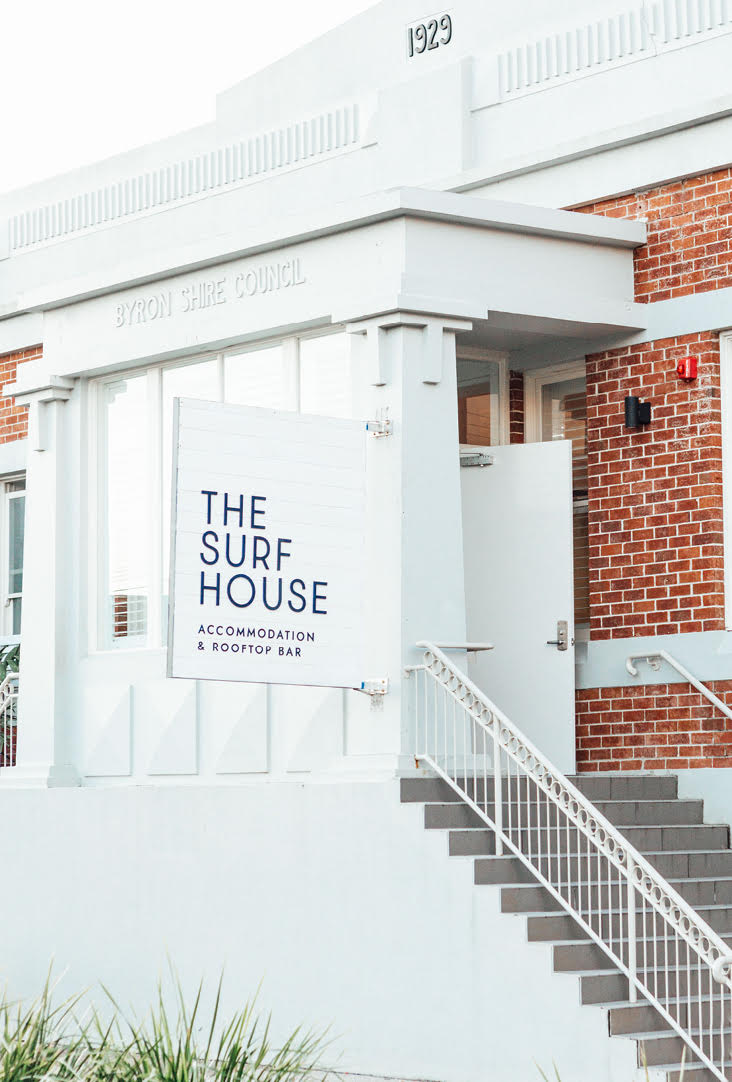 The Surf House Branding