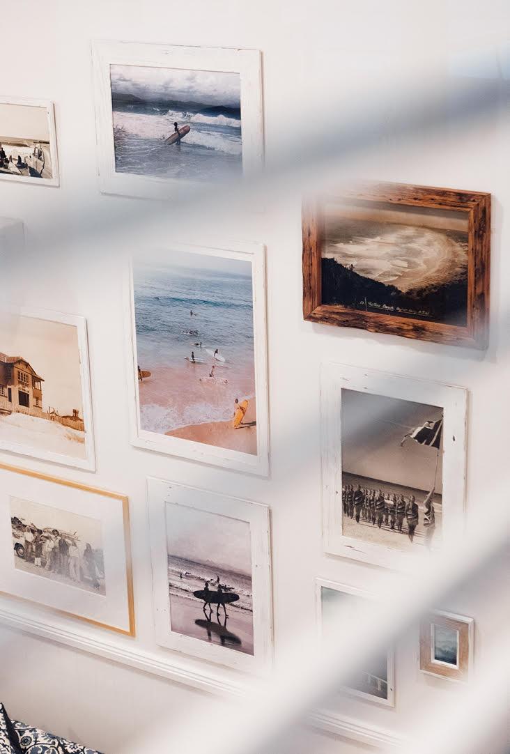 The Surf House frame lanscape